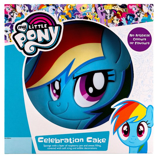 Image 1 Of My Little Pony Celebration Cake