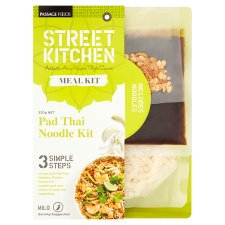 street kitchen pad thai noodles meal kit 320g - groceries - tesco