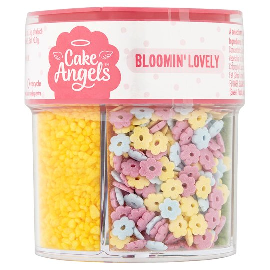 Cake Angels Spring Flowers 85G