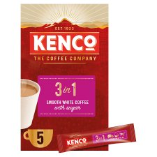 image 2 of Kenco 3 In 1 Instant Smooth White Coffee 5 Sachet 100G