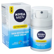 Nivea Men Q10 Skin Energy Moisturiser 50Ml