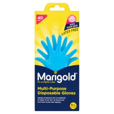 Marigold Multi Purpose Disposable Gloves 40 Pack