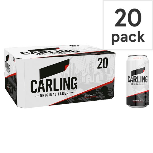 Carling Lager 20X440ml