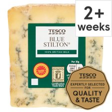 Tesco British Blue Stilton Cheese 220 G