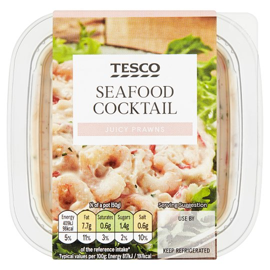 Tesco Chunky Seafood Cocktail Sandwich Filler 270G