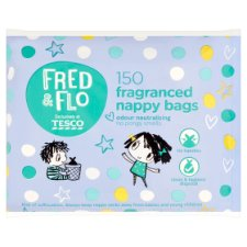 Fred And Flo 150 Nappy Bags