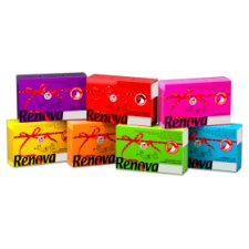 image 2 of Renova Pocket Tissue 6 Pack Various Colours