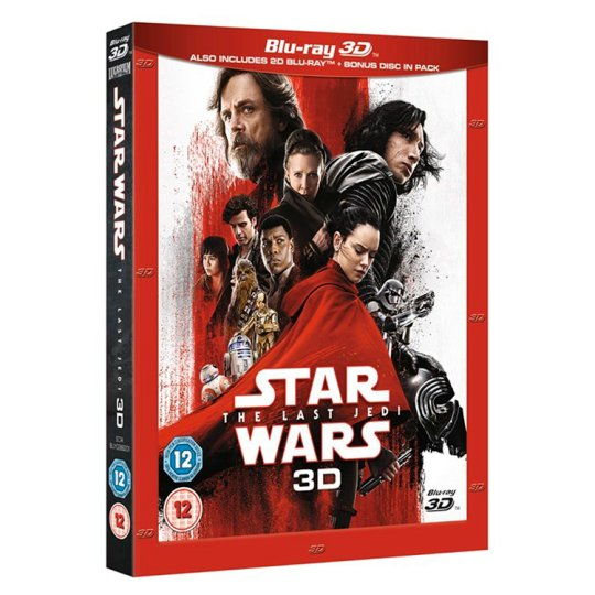 Star Wars: The Last Jedi 3D Br