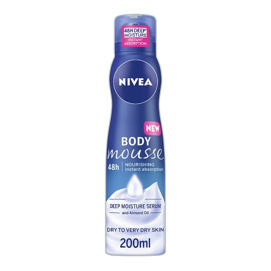 Nivea Nourishing Body Mousse 200Ml