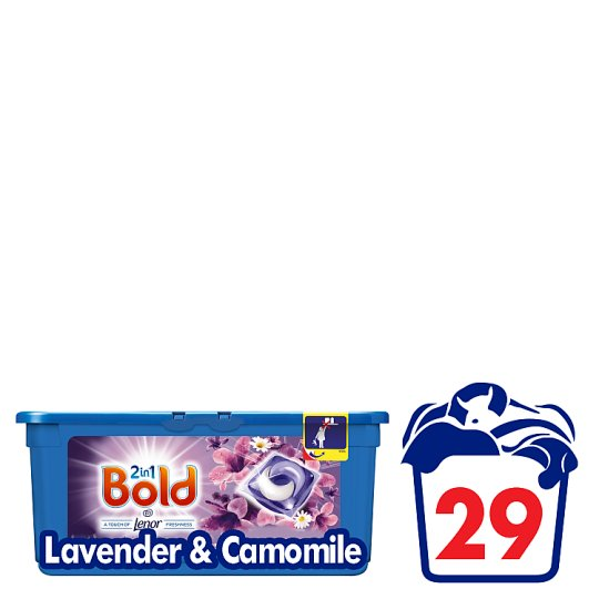 Bold 2 In 1 Pods Lavender And Camomile 29 Washes