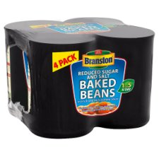 Branston Reduced Sugar And Salt 4 x 410G