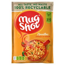 Mugshot Sweet And Sour Pasta 67G