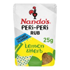 Nando's Peri Peri Rub Lemon And Herb 25G