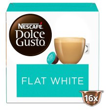 Nescafe Dolce Gusto Flat White Coffee Pods 16 Capsules