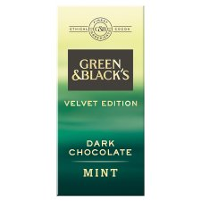 Green And Blacks Mint Dark Chocolate 90G
