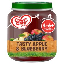 Cow & Gate Stage 1 Apple And Blueberry 125G Jar