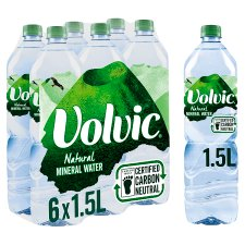 Volvic Mineral Water 6X1.5 Litres