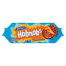 Mcvities Milk Chocolate Hobnobs 262G