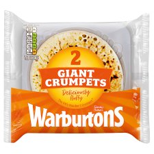 Warburtons Giant Crumpets 2 Pack