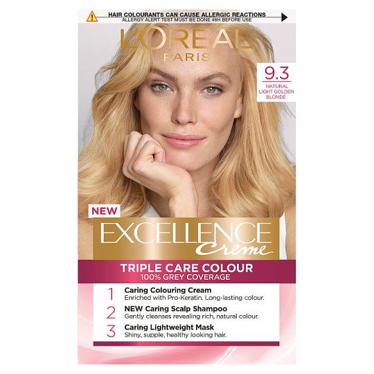 image 1 of L'oreal Excellence Hair Colourant Light Golden Blond