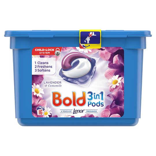 Bold 3In1 Pods Lavender 16 Washes