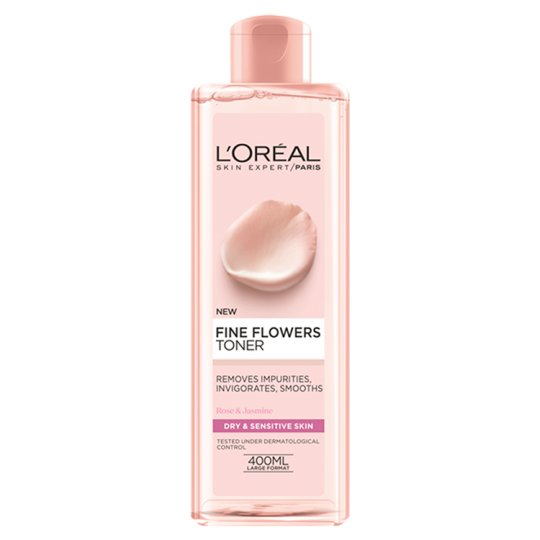 L'oreal Paris Fine Flowers Dry Sensitive Toner 400 Ml