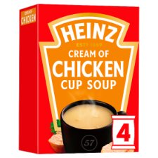 Heinz Cream Of Chicken Cup Soup 4 Pack 68G