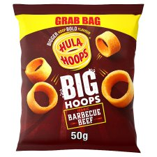 Hula Hoops Bbq Snacks Grab Bag 50 G