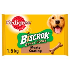 Pedigree Gravy Bones Biscuits Dog Treats 1.5Kg