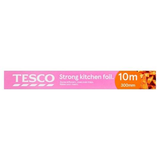 Tesco Strong Kitchen Foil 300Mm X 10M