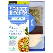 street kitchen chow mein noodle meal kit 320g - tesco groceries