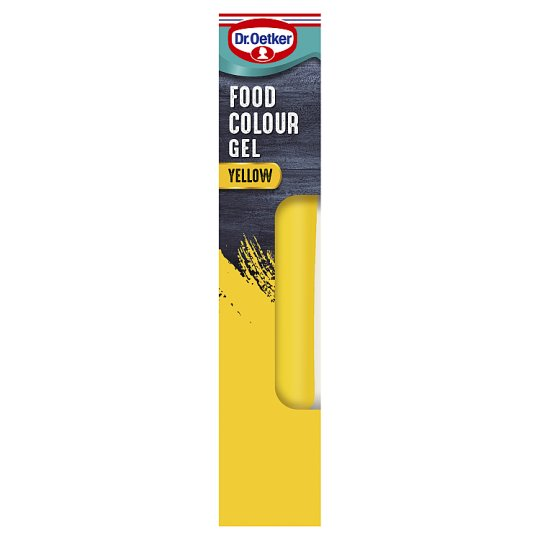Dr. Oetker Coloured Gel - Yellow Extra Strong 15G