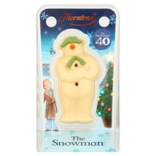 Thorntons Snowman Model White Chocolate 60G
