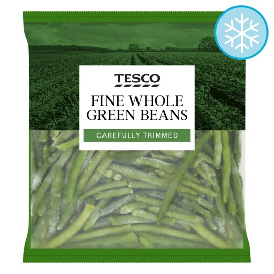 Tesco Very Fine Whole Green Beans 900G