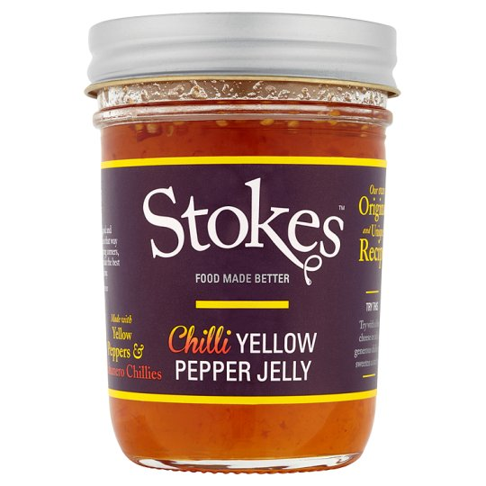 Stokes Chilli Yellow Pepper Jelly 250G