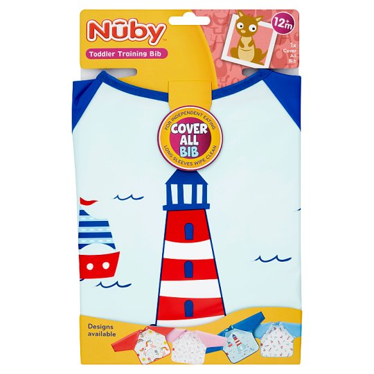 image 1 of Nuby Coverall Bib