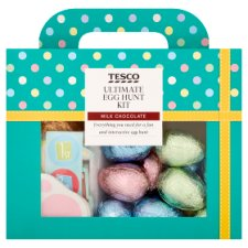Tesco Golden Easter Egg Hunt Adventure 545G