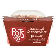 Pots And Co Hazelnut And Chocolate Praline 85G
