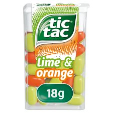 Tic-Tac Lime And Orange 18G