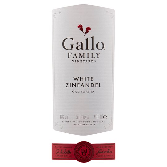 Gallo Family Vineyards White Zinfandel 75Cl