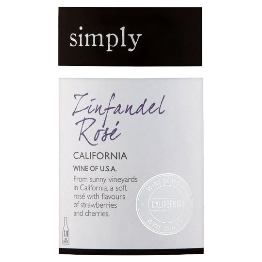 Simply Zinfandel Rose 75Cl