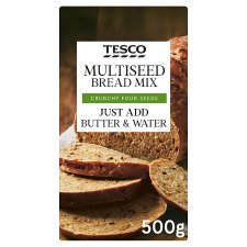 Tesco Multiseed Bread Mix 500G