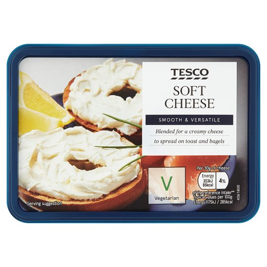 Tesco Soft Cheese 150G