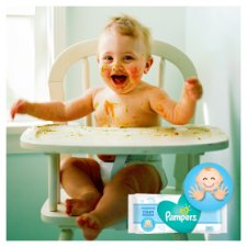 Pampers Fresh Clean Baby Wipes 1X64 - 64 Wipes