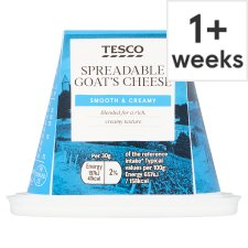 Tesco Spreadable Goats Cheese 150G