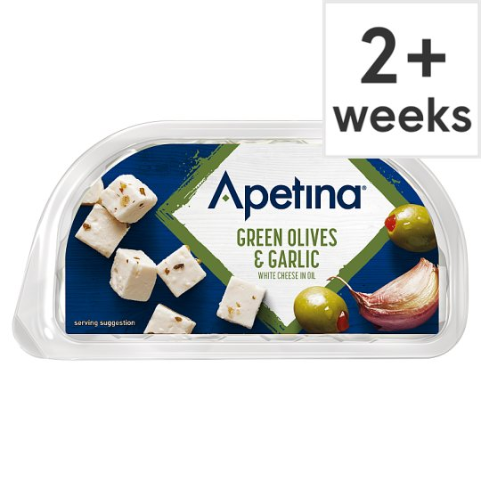 Apetina Garlic Olive Cheese Snack Pack 100 G