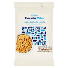 Tesco Everyday Value Roasted Salted Peanuts 200 G