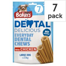 image 1 of Bakers Dental Delicious Large Chicken 270G