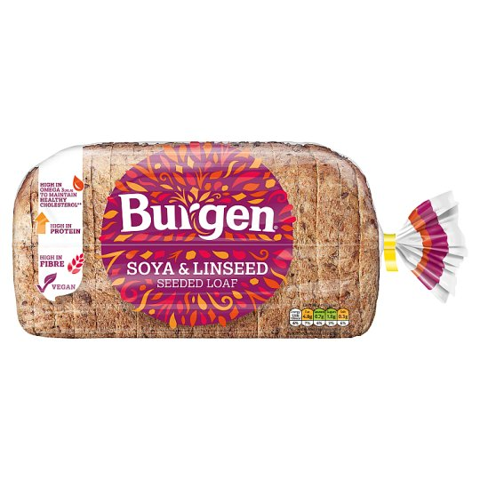 Burgen Soya And Linseed Bread 800G