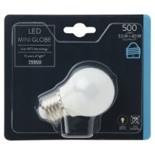 Tesco Led Mini Globe 40W Edison Screw